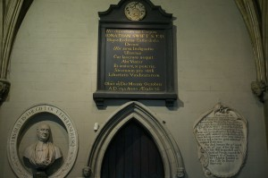 Dublin - St Patrick's Cathedral, Jonathan Swift