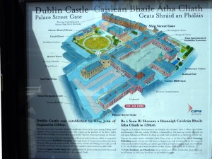 Dublin - Castle, le plan