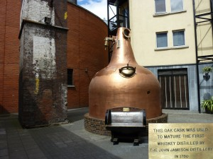 Dublin - Old Jameson Distillery