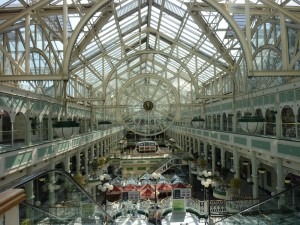 Dublin - St Stephen's Green shopping center