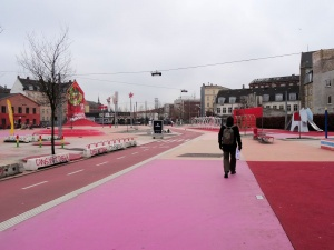 Copenhague : Superkilen, la place rouge