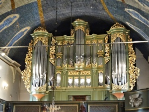 Oslo : cathedrale, orgue
