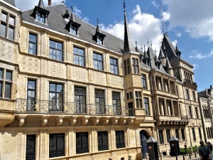 Luxembourg-ville : palais grand ducal