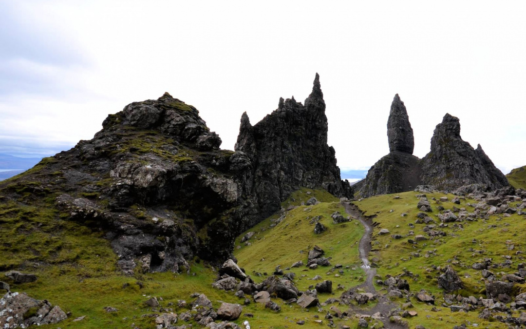 Ecosse : l'île de Skye, The Old Man of Storr