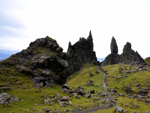 Ecosse : Skye, Old Man of Storr