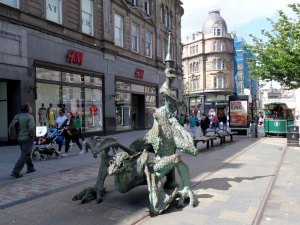 Ecosse : Dundee, le dragon