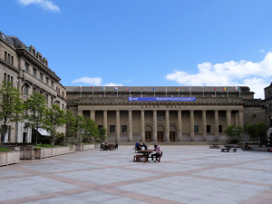 Ecosse : Dundee, Caird Hall