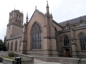 Ecosse : Dundee, église paroissiale ste Mary
