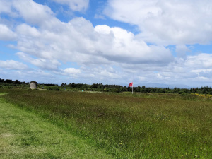 Ecosse : Culloden, positions anglaises