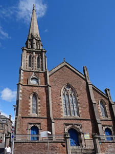 Ecosse : Inverness, st Columbia High Church