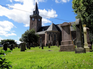 Ecosse : Inverness, old High Church