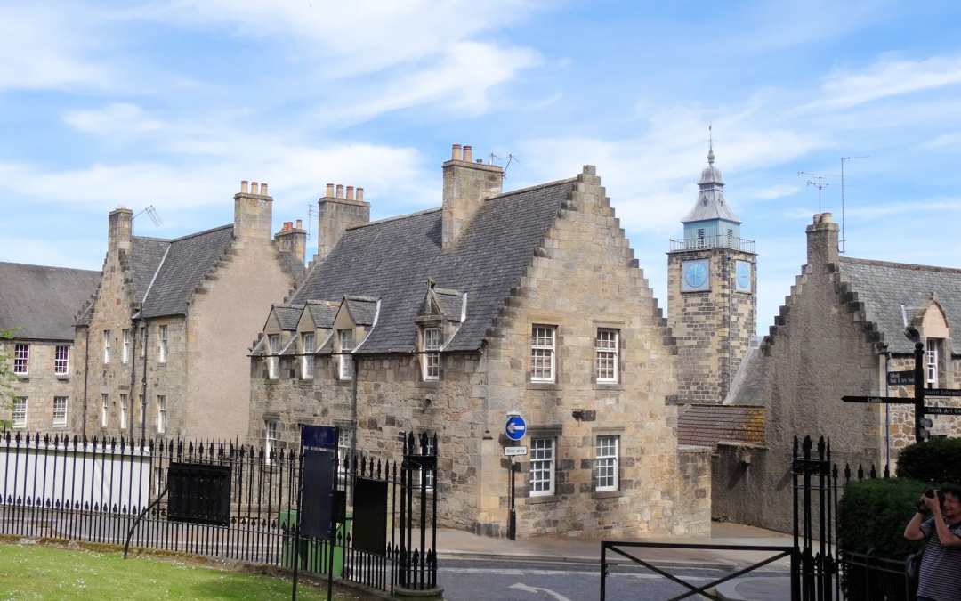 Ecosse : Stirling, vieille ville
