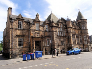 Ecosse : Stirling, vieille ville , central library